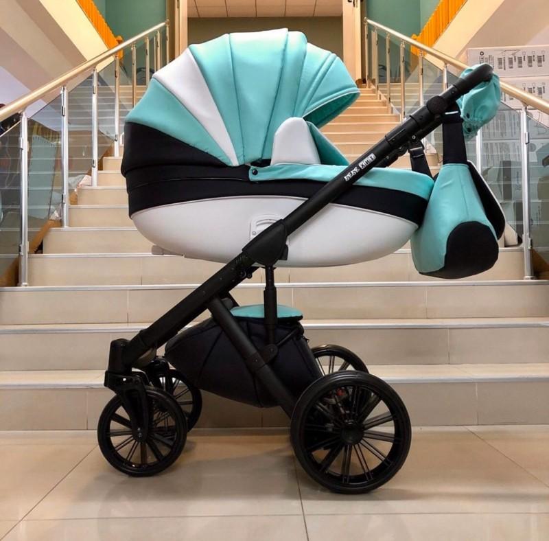 Бебешка количка Versay 2в1 ; цвят/ зелено