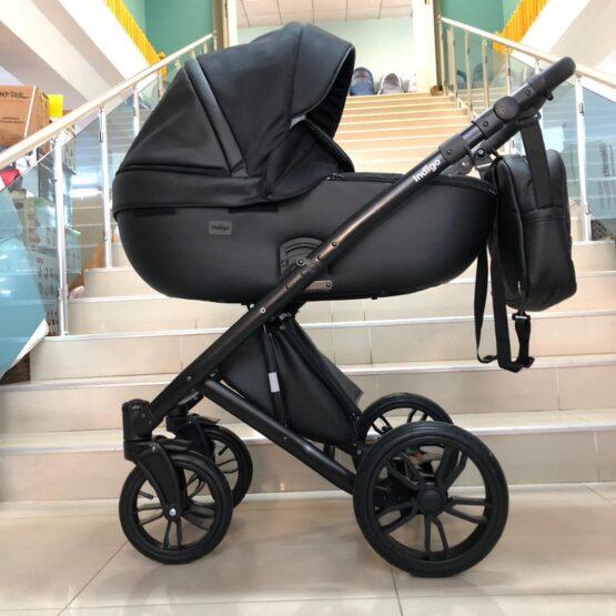 Бебешка количка Porto 3в1; цвят/черно