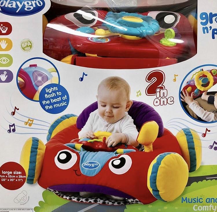 Бебешки център за игра – кола