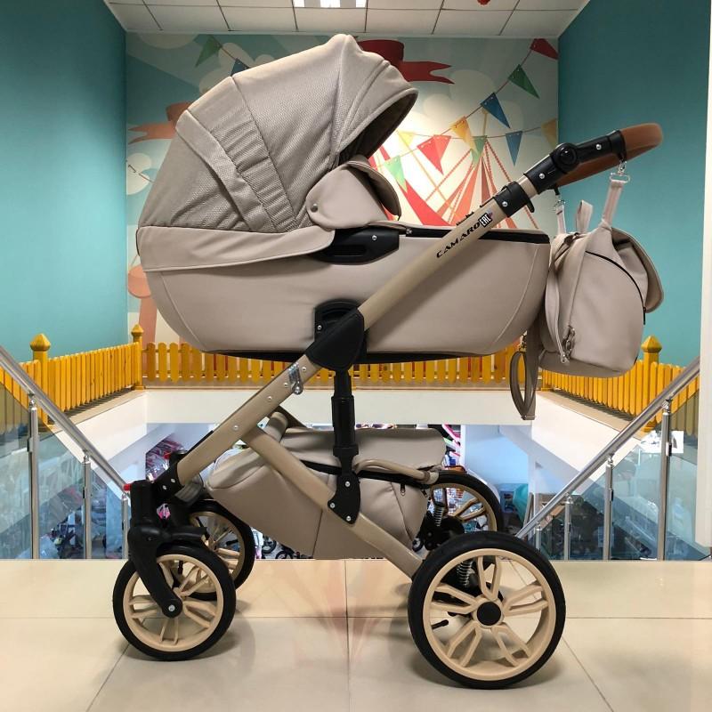 Бебешка количка Camaro 3в1 ;цвят/бежов