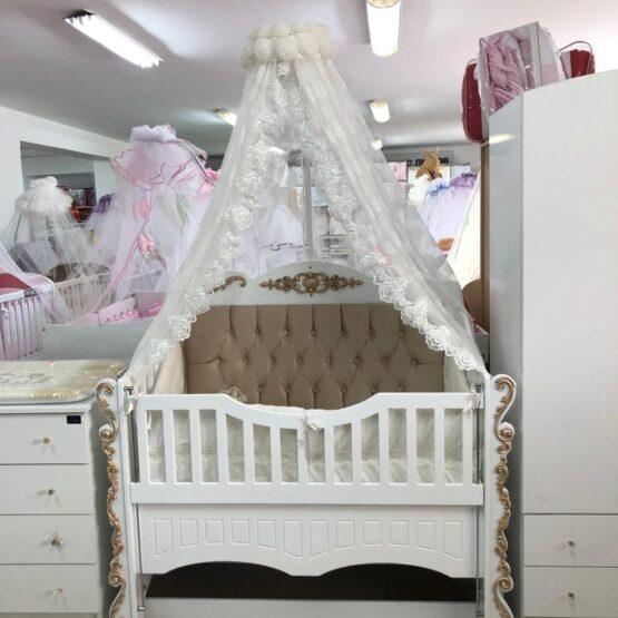Бебешко легло Sofija ; цвят/златен