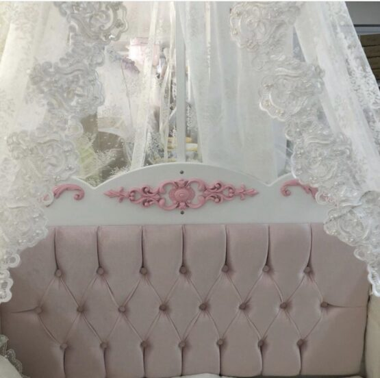 Бебешко легло Sofija ; цвят/розов