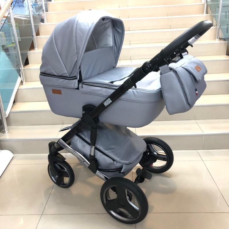 Бебешка количка Hugo 2в1; цвят: сив
