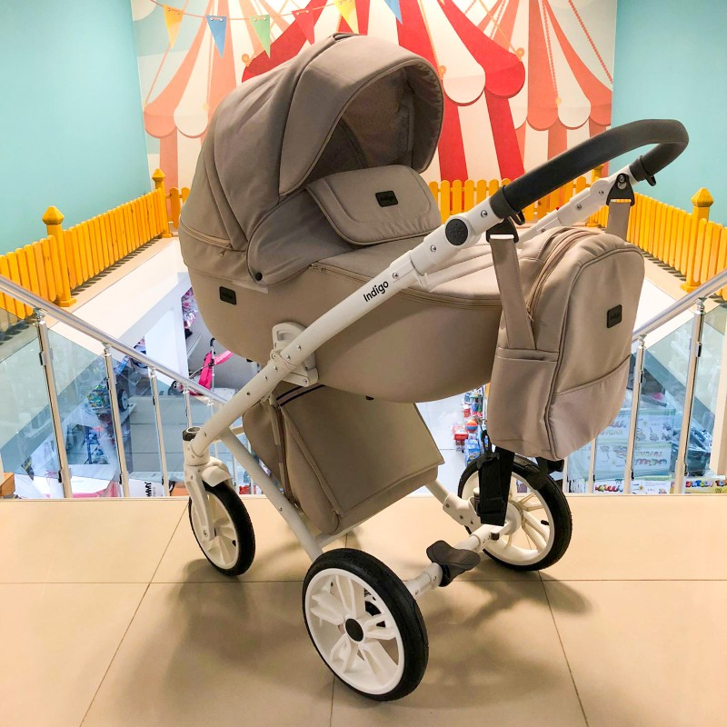 Бебешка количка Porto 3в1 ; цвят : бежов