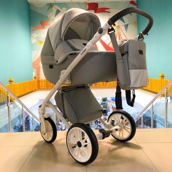 Бебешка количка Porto 3в1 ; цвят: сив