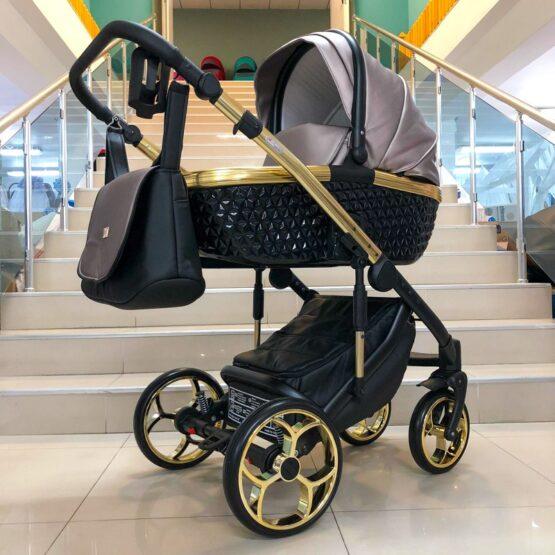 Бебешка количка Xsara 3в1 ; цвят: пепел от рози