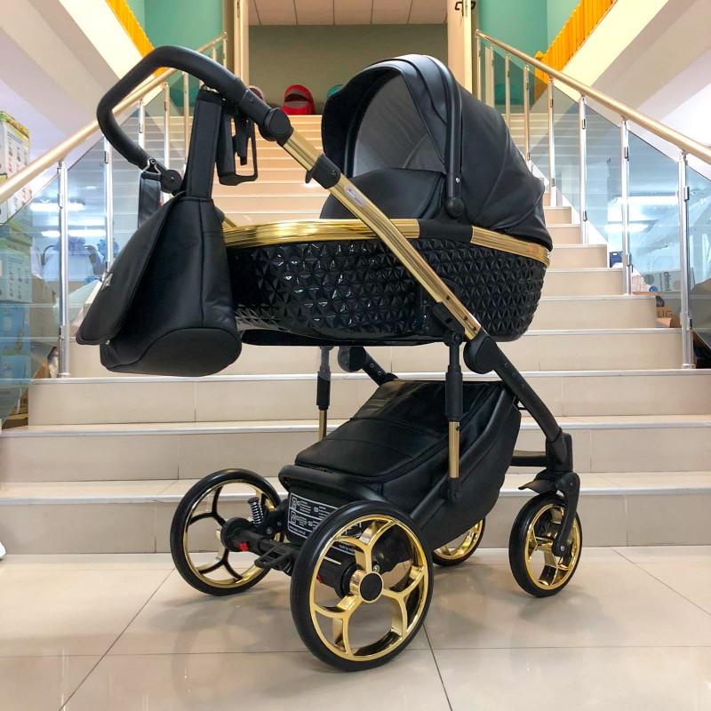 Бебешка количка Xsara 3в1; цвят: черен