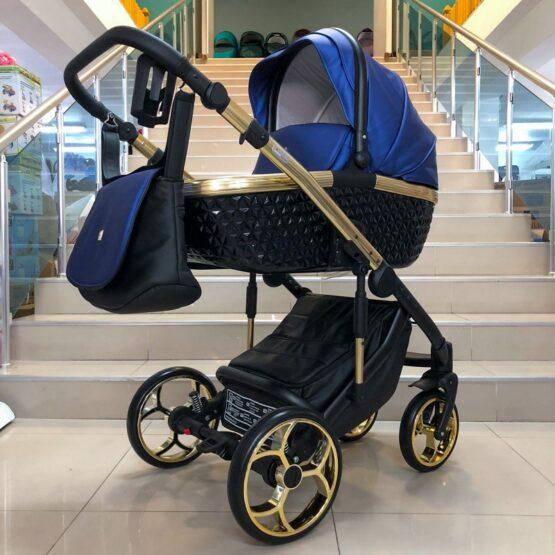 Бебешка количка Xsara 3в1; цвят: син