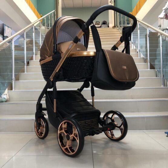 Бебешка количка Xsara 2в1; цвят: меден