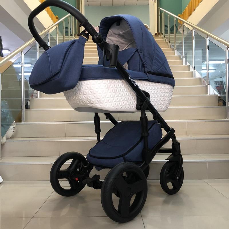 Бебешка количка Specchio 3в1 :цвят ; дънков