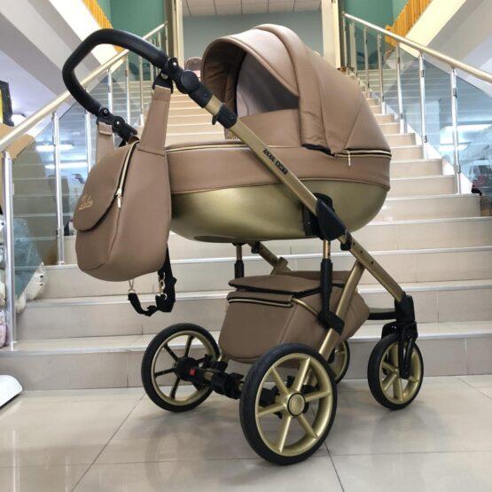 Бебешка количка Dolce 3в1: цвят ; капучино