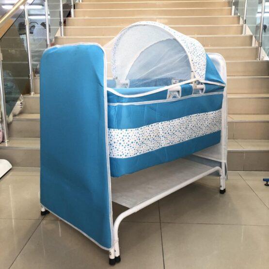 Легло-люлка Надя : цвят; син