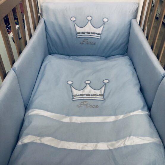 Спален комплект Корона; цвят : син