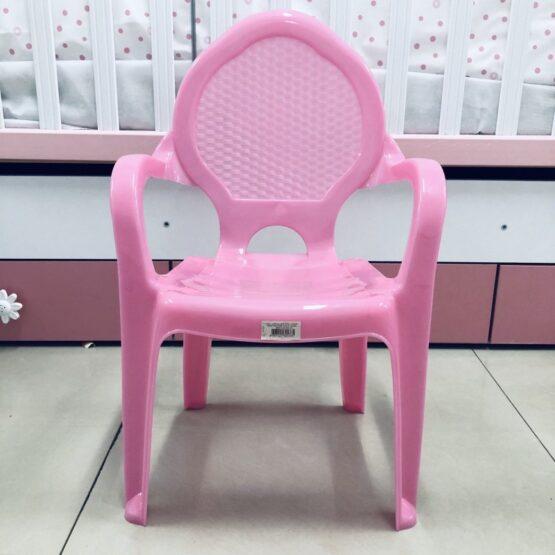 Детско пластамсово столче: цвят: розов