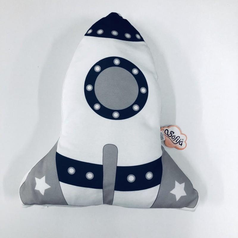 Декоративна възглавница ракета