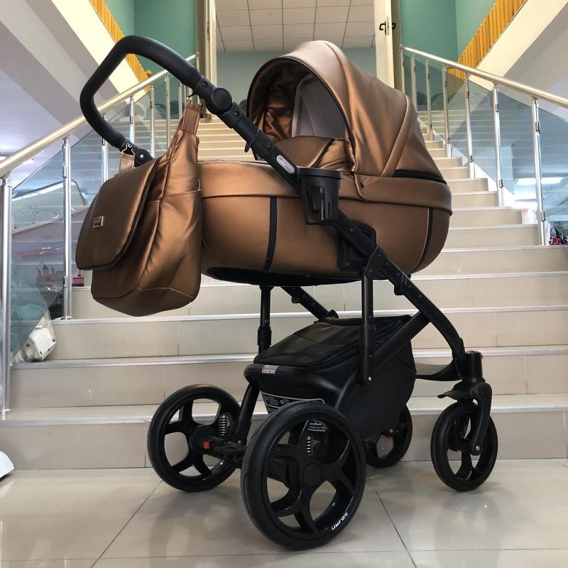 Бебешка количка Kuga 3в1: цвят: меден