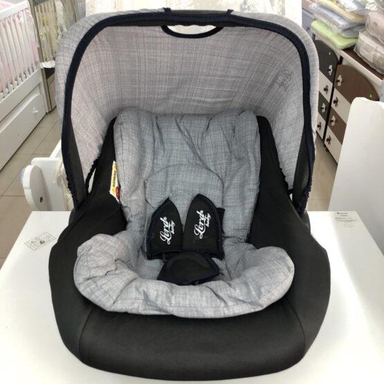 Столче за кола Аби; цвят: сив