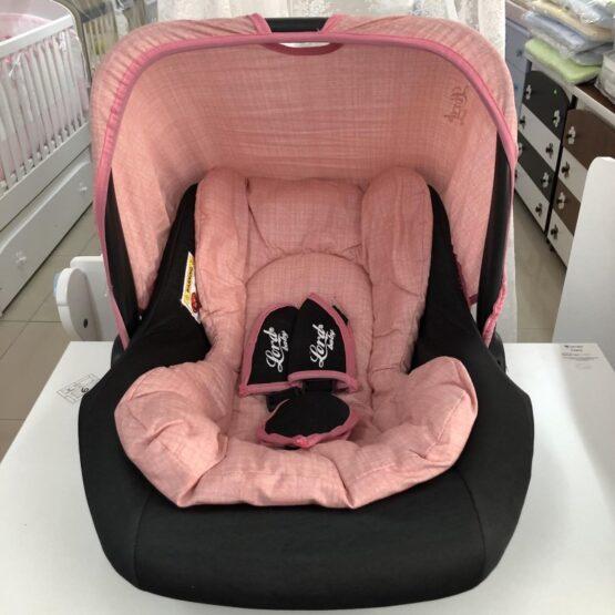 Столче за кола Аби: цвят: розов