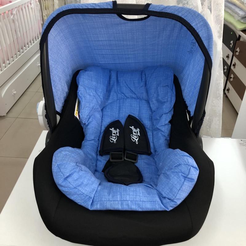 Столче за кола Аби: цвят: син