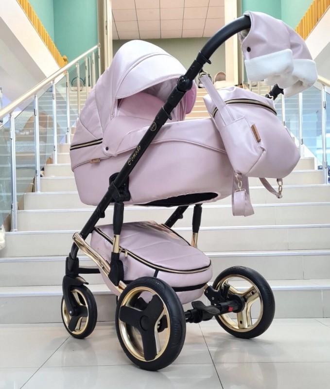 Бебешка количка Comodo 3в1: цвят : розов