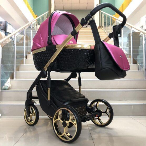 Бебешка количка Xsara 2в1: цвят: циклама/черен