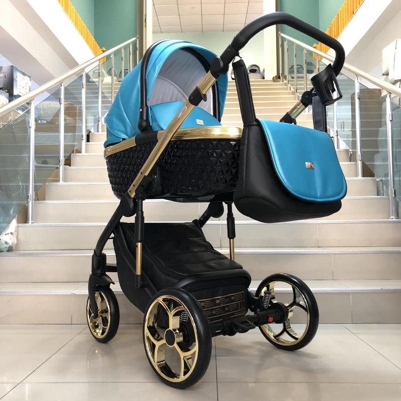 Бебешка количка Xsara 2в1 : цвят: тюркоаз/черен