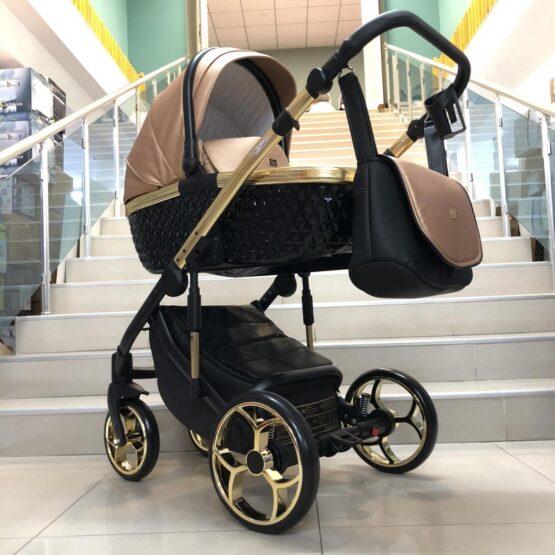 Бебешка количка Xsara 2в1: цвят: черен/светло меден
