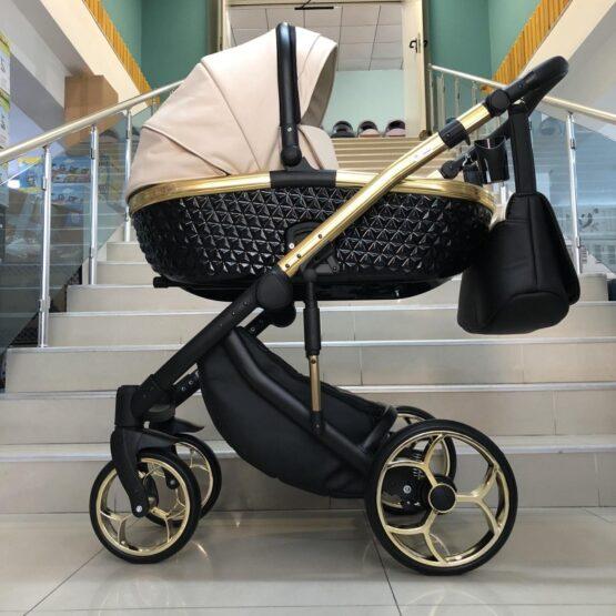 Бебешка количка Xsara 3в1: цвят: крем/черен