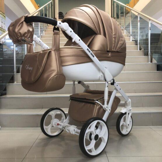 Бебешка количка Versay Princess 2в1: цвят: светло-меден