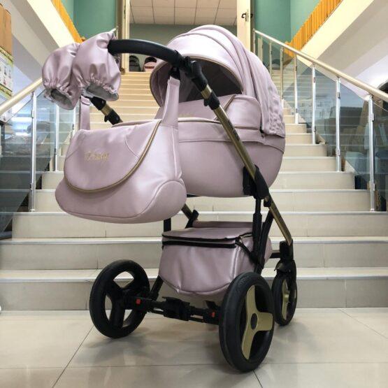 Бебешка количка Versay Princess 2в1: цвят: розов
