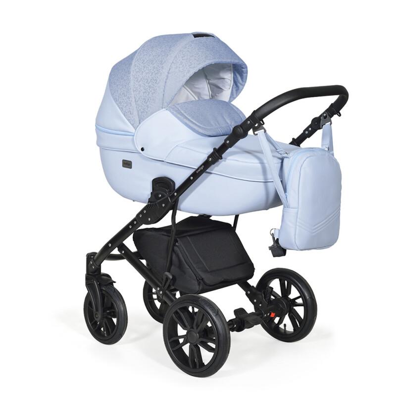 Бебешка количка Mio 3в1; цвят: тъмно-син