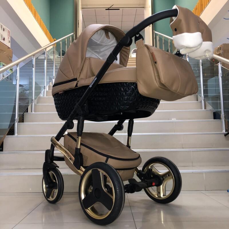 Бебешка количка Specchio 3в1: цвят: капучино
